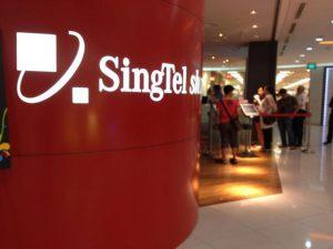 Singtel at Airport