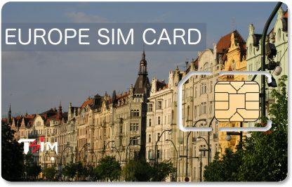 Unlimited Europe SIM Card