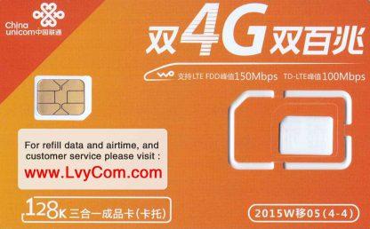 China SIM Card