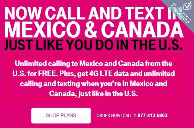 t mobile usa canada mexico sim card - Mexico Calling Card