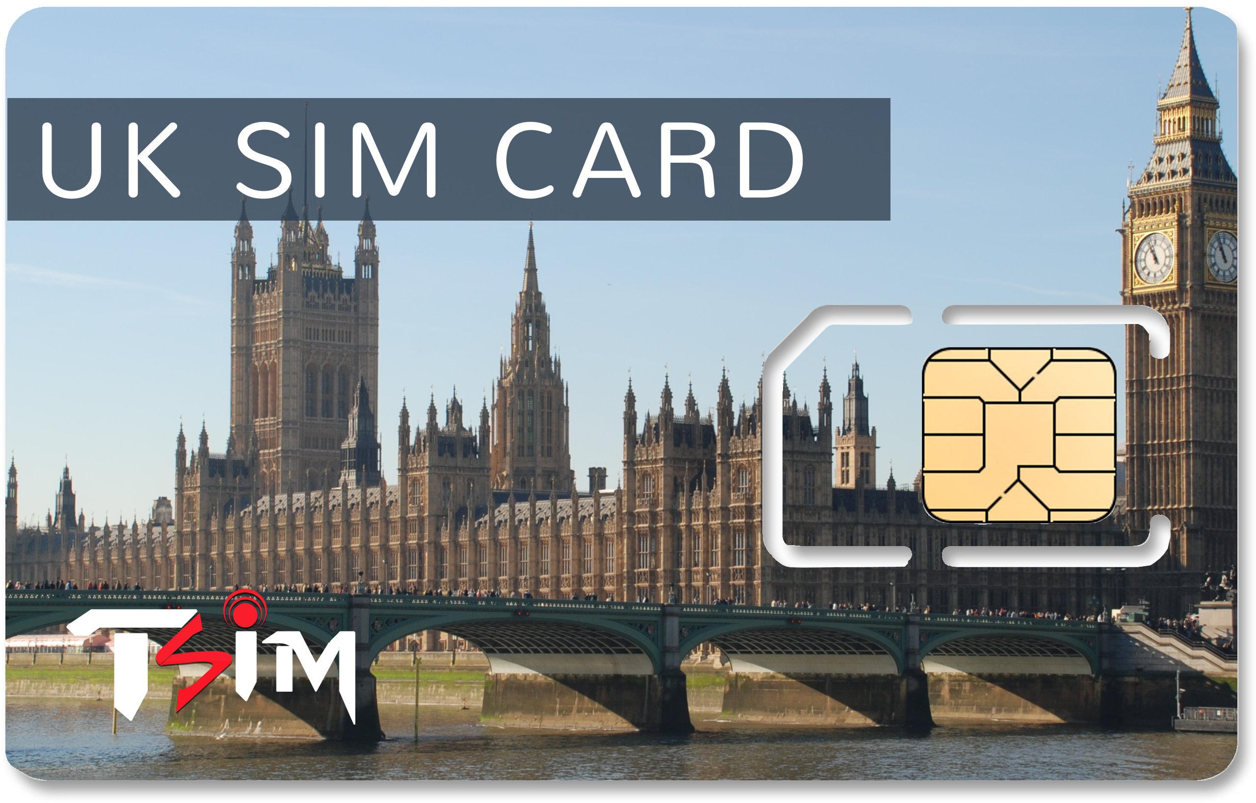 Unlimited UK Sim Card
